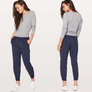 New!   Lululemon twisted and tucked jogger pants